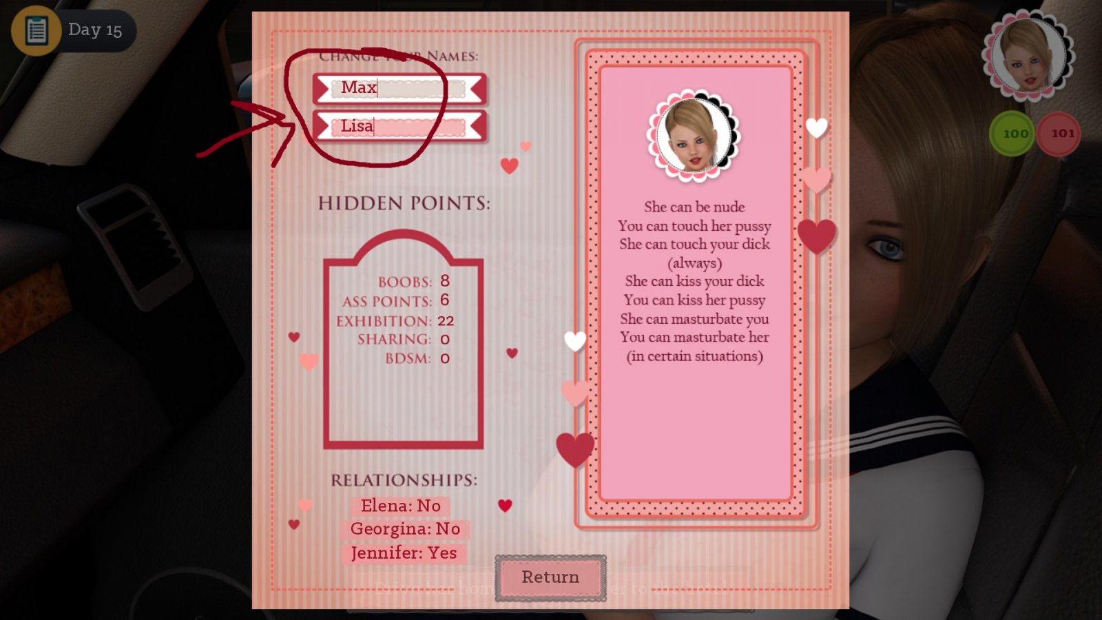 Dating my daughter save file