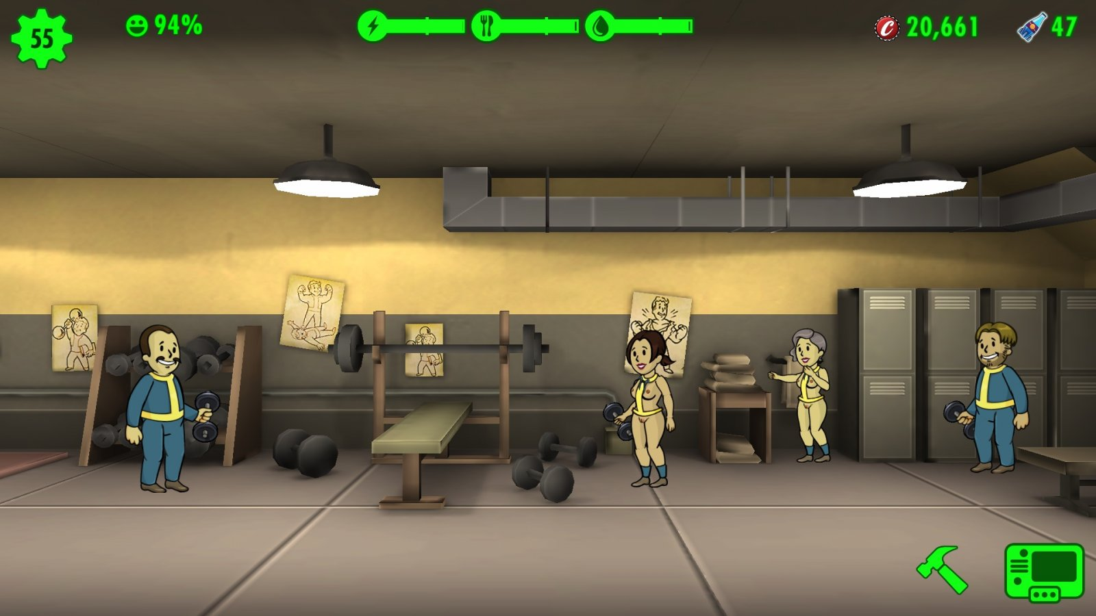 Others Fallout Shelter Sexy Shelter Mod Lookn4Mods  F95Zone-4734