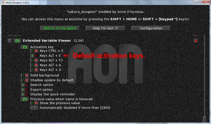 Tool] Extended Variable Viewer 2 04 01 - For walkthrough