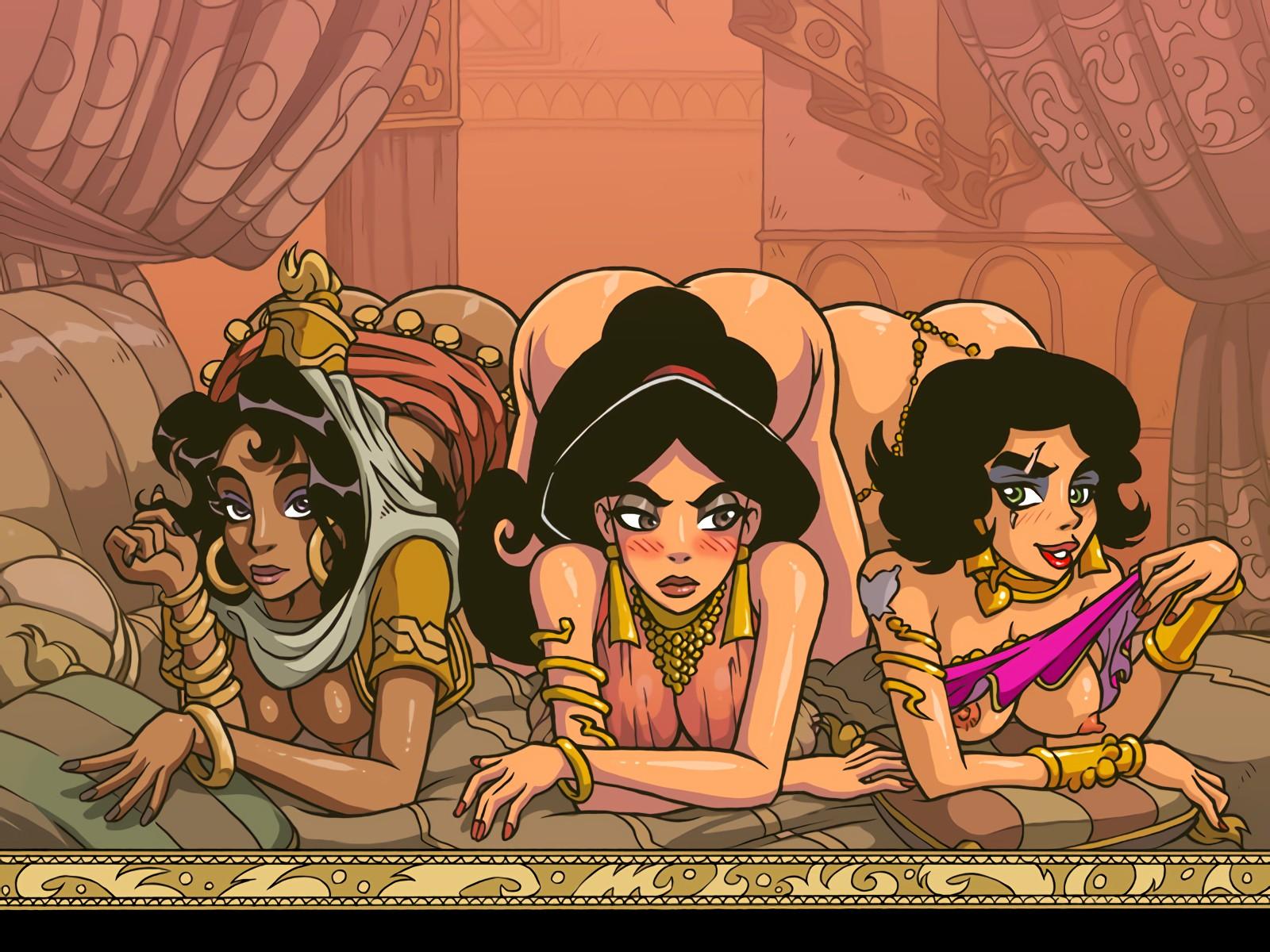 Порно Игры Без Регистрации Алладин И Джина